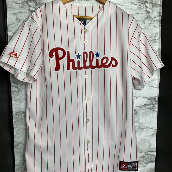 finest selection 6f4e1 7c1fc Ryan Howard #6 Phillies Jersey